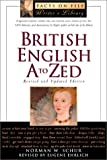 British English A to ZEd (The Facts on File Writers Library)
