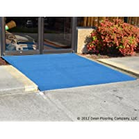 Dean Indoor/Outdoor Carpet/Rug - Light Blue - 6' x 15' with Marine Backing