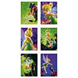 Tinker Bell Birthday Party Stickers Favors NEW