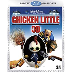 Chicken Little (Three-Disc Combo: Blu-ray 3D/Blu-ray/DVD)