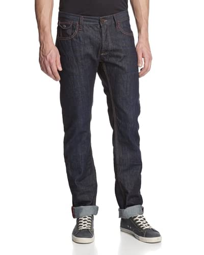 Desigual Men's The Happy Regular Fit Jeans