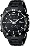 Pulsar Men's PW6011 Analog Display Japanese Quartz Black Watch
