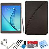 Samsung Galaxy Tab A 9.7-Inch W-Fi Tablet (Titanium with S-Pen) 32GB Memory Card Bundle includes Samsung Galaxy Tab A 9.7-Inch Tablet, 32GB Micro SD Memory Card, Headphones, Sleeve, Stylus Pen with Clip, Cleaning Kit and Micro Fiber Cloth