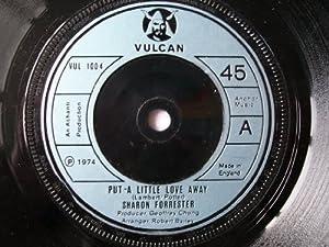 "SHARON FORRESTER Put a Little Love Away UK 7"" 45"