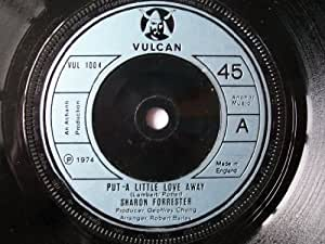 "SHARON FORRESTER Put a Little Love Away UK 7"" 45"
