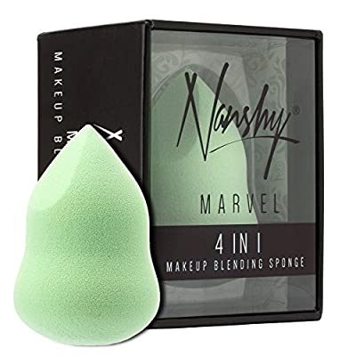 Nanshy MARVEL 4 in 1 Mint Green Beauty Makeup Blending Sponge Blender