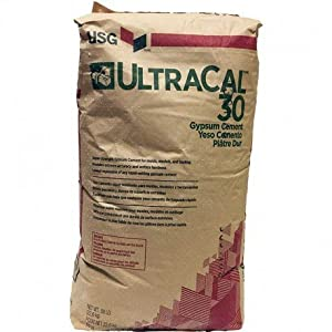 Ultracal 30 Plaster Casting Powder for Mold Casting, Scenery, Dioramas, and Dentistry, Also for Model Making & Gaming (15 Pounds) (Tamaño: 15 Pounds)