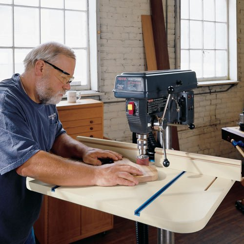 Rockler Drill Press Table and Fence