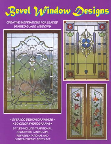 Bevel Window Designs - 100 Stained Glass Patterns, Randy Wardell & Judy Huffman
