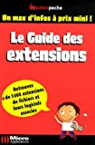 Guide des extensions