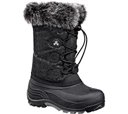Kamik Snowgypsy Boot (Toddler/Little Kid/Big Kid),Black,9 M US Toddler