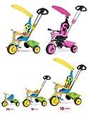 Vivo 2014 unisex Childrens / Children / Kids / Girls / Boys Universal Trike Tricycle Bike 3 Wheel with Turning Parent Handle