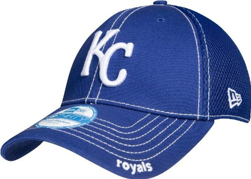 MLB Kansas City Royals Neo Fitted Baseball Cap, Royal, Medium/Large at Amazon.com