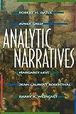 Analytic Narratives (0691001294) by Bates, Robert H.