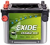 Exide Orbital 34XCD Sealed Maintenance-Free (AGM) Deep-Cycle Automotive Battery