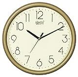 Ajanta Quartz Wall Clock (25.6cm x 25.6cm,Ivory)