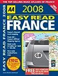 Easy Read France (AA Atlases)