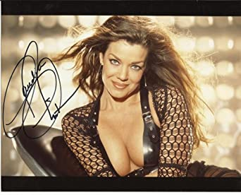 Claudia Christian Sexy hand-signed 8 x 10 photo C of A #6 at Amazon's