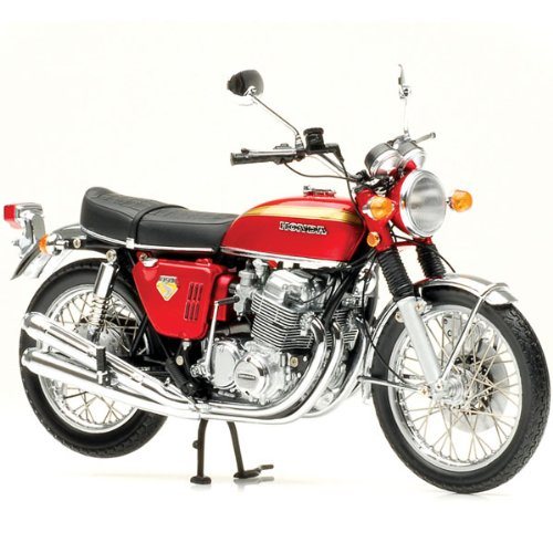 Amazon.com: Minichamps DP 1/12 Honda CB750 FOUR K0 1968 Red