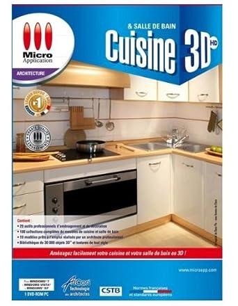 Cuisine amp salle de bains 3d logiciels for Cuisine 3d autocad