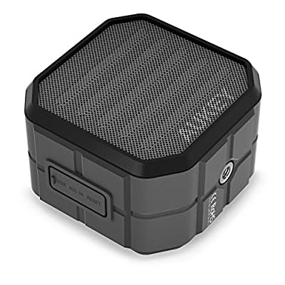 AUKEY Bluetooth Speaker, Portable Wireless Outdoor Speaker with Water Resistant, Enhanced Bass, Build-in Microphone for iPhone, iPad, Samsung & More