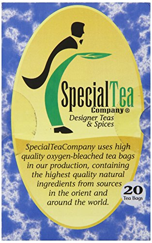 Special Tea Organic Gourmet Award Winning Black Tea Bags, Mint Fusion, 20 Count