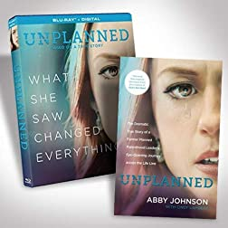 Unplanned Bundle with Book [Blu-ray]