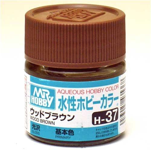 水性ホビーカラー H37 ウッドブラウン
