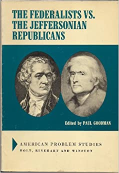 an introduction to the history of the jeffersonian republicans I introduction thomas jefferson's electoral victory over john adams—and the larger victory of the republicans over the federalists—was but one of many changes in the early republic.