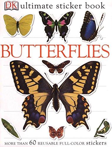 Ultimate Sticker Book: Butterflies (Ultimate Sticker Books) [DK Publishing] (Tapa Blanda)