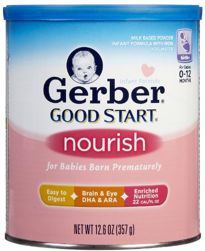 Gerber Good Start Nourish Baby Formula - Powder - 12.6 Oz - 6 Pk