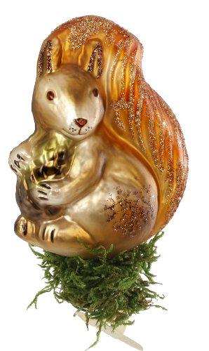Inge-Glas Fairytale Squirrel Christmas Ornament