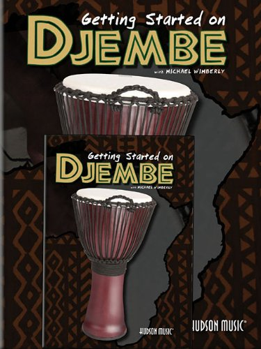 Getting Started on Djembe Book & DVD