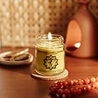 Resonance Meditation Candles - Solar Plexus Chakra Natural Wax Medium Jar Candle