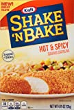 Kraft Shake N Bake Seasoned Coating Mix Box, Hot and Spicy, 4.75 Ounce (Pack of 8)