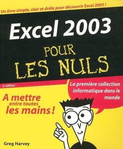 Livre excel 2003 pour les nuls - L immobilier pour les nuls ...