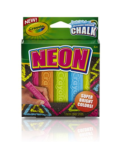 Crayola Special Effects Sidewalk Chalk - Neon - 1