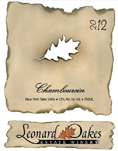 2012 Leonard Oakes Estate Winery Chambourcin 750 Ml