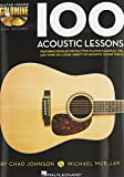 img - for 100 Acoustic Lessons - Guitar Lesson Goldmine Series (Book/CD) book / textbook / text book