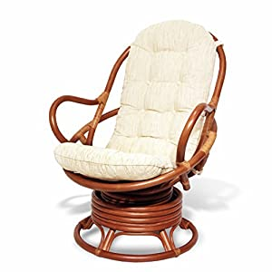 Amazon Com Java Swivel Rocking Chair Colonial With
