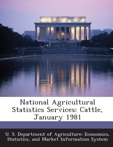 National Agricultural Statistics Services: Cattle, January 1981