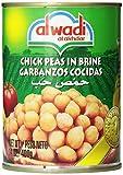 Al Wadi Chick Peas in Brine, 14-Ounce (Pack of 12)