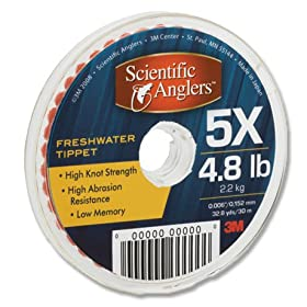 Scientific Anglers Freshwater Tippet Material (Size: 4X)