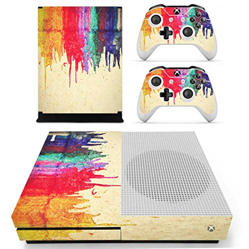Pandaren Xbox One S / Slim Console Full Skin Sticker Faceplates(Paints Console Skin X 1 + Controller Skin X 2) (Xbox Cases For Console compare prices)