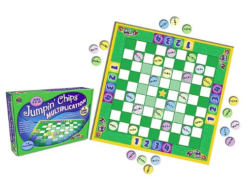 Teacher Created Resources Jumpin' Chips Multiplication (7839)