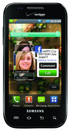 Samsung Fascinate Android Phone (Verizon Wireless)