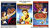 Beauty and the Beast VHS, Belles Magical World, The Enchanted Christmas VHS