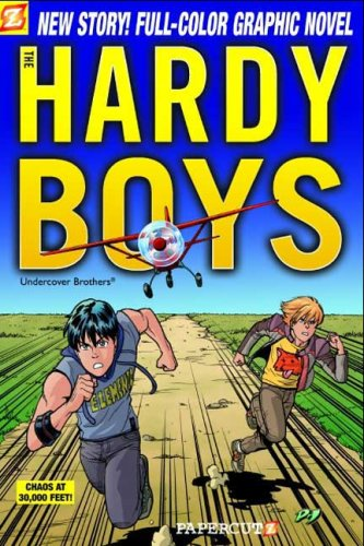 Hardy Boys #19: Chaos at 30,000 Feet! (Hardy Boys Graphic Novels (Papercutz Paperback))