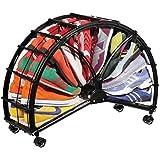 Schuhregal der besonderen Art - Halb Mond Schuhkarusell für 20 Paar Schuhe besonders praktisch, modern und platzsparend!
