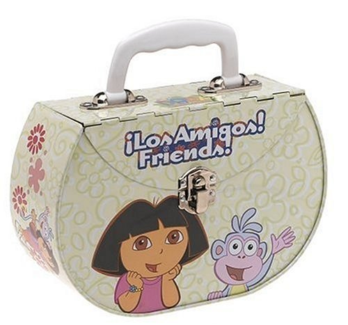 Dora the Explorer Tin Purse - Friends!  Los Amigos! - 1